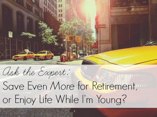 saving for retirement image